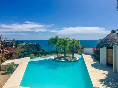 Photo for NEW PROPERTY | Stunning Open-Air Villa w/ Private Pool and Ocean Views