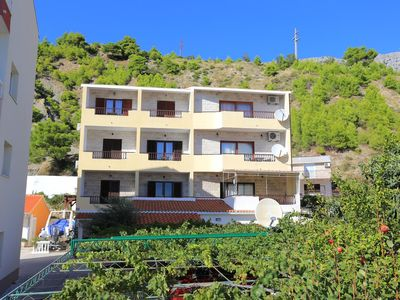 Photo for One bedroom apartment with balcony and sea view Duće, Omiš (A-12687-a)