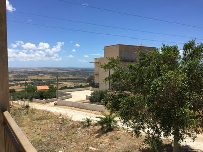 Photo for Apartment in the green with views of Trapani and salt pans
