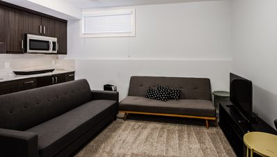 Photo for Cozy Lower Suite Close to Downtown