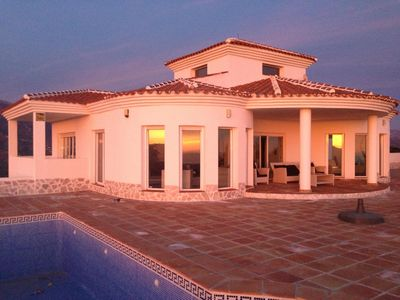 Photo for Luxury Villa, top view 600 meters height in consultation (free) car available