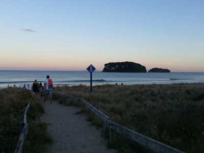 Photo for Whangamata Central - close to beach and shops
