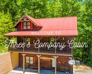Photo for Large Secluded Cabin W/Hot-tub & Sleeps up to 13!