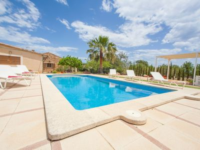 Photo for Finca Catalina (011409) - Country house for 8 people in Son Servera