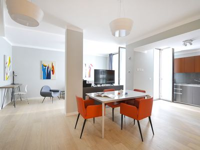 Photo for Beautiful 1bdr in Gorani Medieval Tower in the heart of Milan