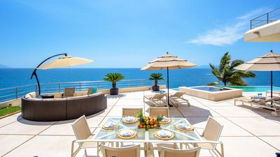 Photo for Breathtaking Location and Views, Heated Infinity Pool, Full Staff Inc. Chef, AC, Free Wifi