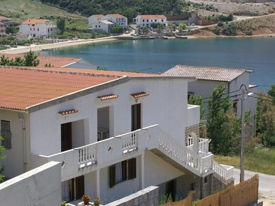 Photo for Apartment in Metajna (Pag), capacity 2+0