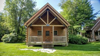 Photo for NEW! Ideally Located Luxury Log Home at Double JJ Ranch & Resort