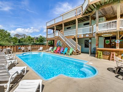 Photo for Terrapin Station | 950 ft from the beach | Private Pool, Heated Pool, Hot Tub