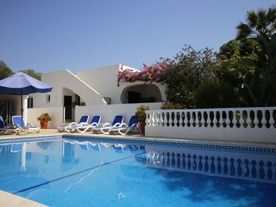 Photo for Lovely Four Bedroom Villa With Large Private Gated Pool - Free Wifi and Aircon