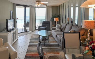 Photo for Phoenix 7 ~ Gulf Front Balcony ~ Two Bedroom