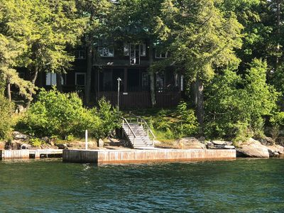 Photo for Island Escape Cottage, Thousand Islands, Family-Friendly, Channelside