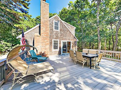 Photo for Hike, Bike to the Beach, Relax by the Fire — 4 BR House in Eastham