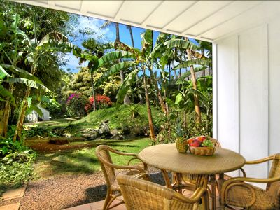 Photo for Waikomo Stream Villas #103: Great Value Lush Garden Views, Only Steps from Pool!