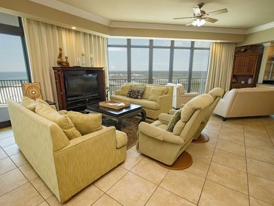 Photo for Gulf Front ~ Lazy River ~ Corner Condo ~ Phoenix West 1101 ~ Prickett Properties