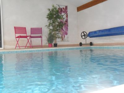 Photo for Studio with private heated pool and 2