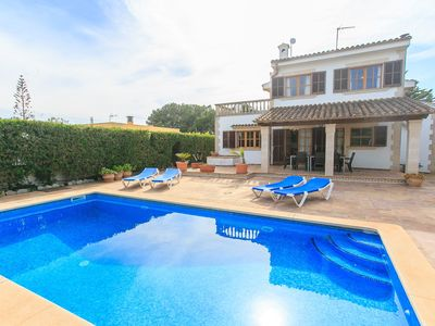 Photo for Villa Isabel: Large Private Pool, Sea Views, WiFi