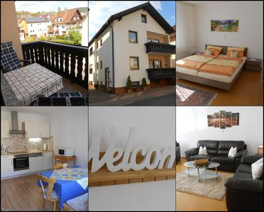 Photo for Well-kept apartment in Spessart. Hiking, biking, excursions. Near Lohr am Main.