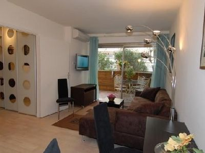Photo for In the heart of Cannes, Bel Appart + Large Terrace, Ideal Congress + Holidays
