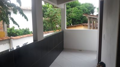 Photo for 2 bedroom duplex apartment in a village in the center of Itacaré ba
