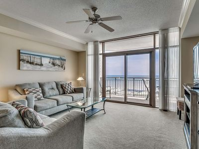 Photo for Spectacular 8th Floor Oceanfront Condo in North Beach Plantation