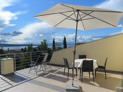 Photo for Holiday apartment Selce for 4 - 6 persons with 2 bedrooms - Penthouse holiday apartment