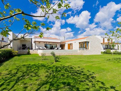 Photo for This 3-bedroom villa for up to 7 guests is located in Sveti Petar and has a private swimming pool, a