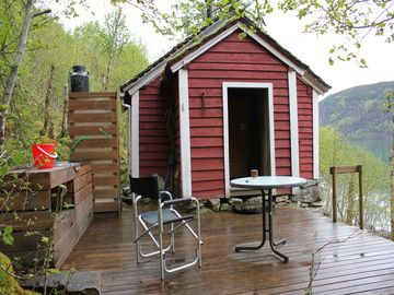 Chalet by the fjord, just standard