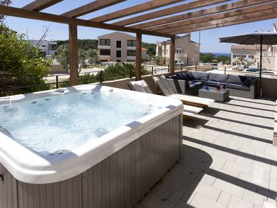 Photo for VILLA UNDINA Villa with pool, whirlpool and sauna, located near the beach and i