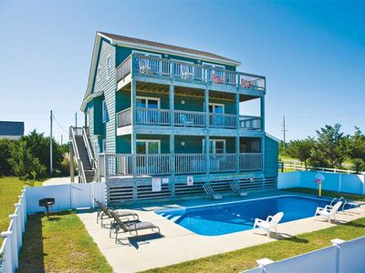 Photo for Delightful Oceanview Home- Private Pool, Hot Tub, Game Rm, Wet Bar, Dog-Friendly