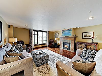 Living Area - Welcome to Avon! This luxe condo is professionally managed by TurnKey Vacation Rentals.