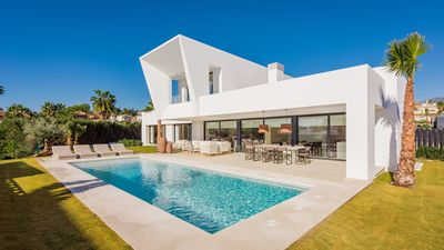 Photo for A modern and new villa near the beach in Marbella