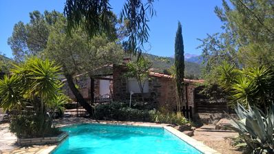 Photo for High season: villa ***** 5 bedrooms - Private Pool - Indoor Spa - Wifi