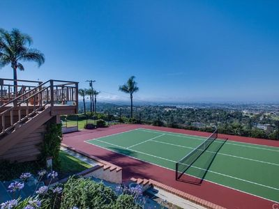 Photo for Palos Verdes gateway with Private Tennis Court and Swimming Pool