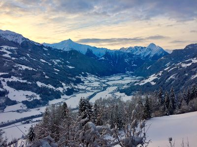 Photo for Best view over the valley for New Years skiing vacation