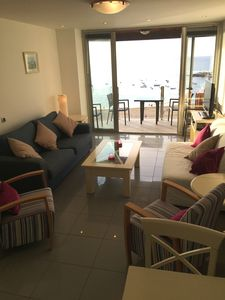 Photo for Superb Apartment with Panoramic Beach and Sea Views
