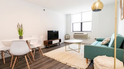 Photo for Modern 2BR on Garden St w/ Gym, 15 min from NYC