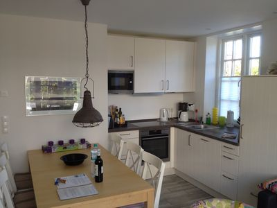 Photo for Close to the beach, top equipped Frisian house in Ording with sauna and fireplace