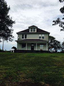 Photo for The Farmhouse offers beautiful country views and plenty of space!