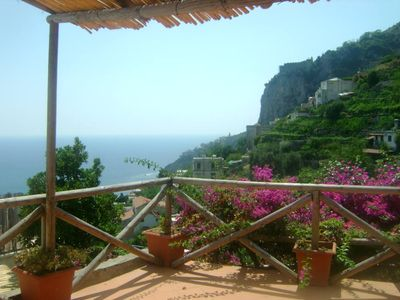 Photo for Exclusive residence with stunning sea view Amalfi -