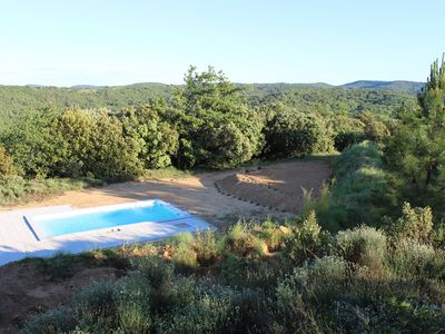 Photo for Ardèche Gorges - House + private swimming pool, in the middle of a 1 ha wooded park