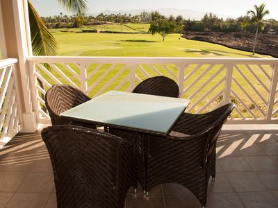 Photo for Fairway Villas Waikoloa A21 - Stay in 2 Bedroom Villa with Golf Course Views