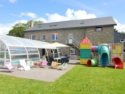 Photo for Renovated with indoor pool, sauna, jacuzzi and separate play area for children