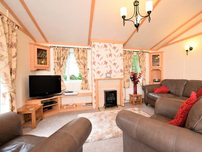 Photo for 3 bedroom Log Cabin in Cockermouth - 49198