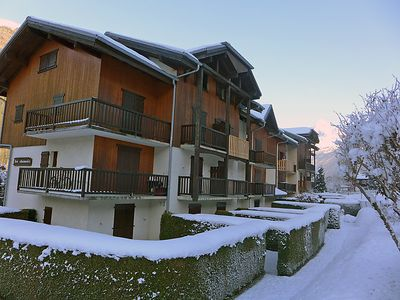Photo for One bedroom Apartment, sleeps 3 in Les Houches with WiFi