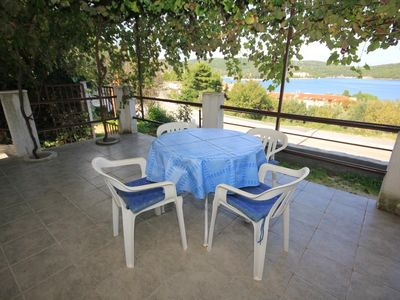 Photo for Two bedroom apartment with terrace and sea view Vis (A-8448-c)