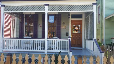 Photo for Galveston Historic District, 3 BR, 2.5 BA, Patio built for Entertainment
