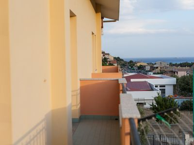 Photo for Large apartment with two bedrooms, two bathrooms, balcony with sea view