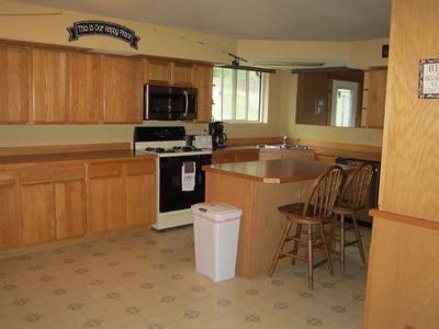 Very Large Kitchen with lots of counter space