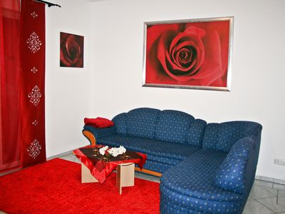 Photo for Komf.  Apartment with garden and terrace for up to 5 people